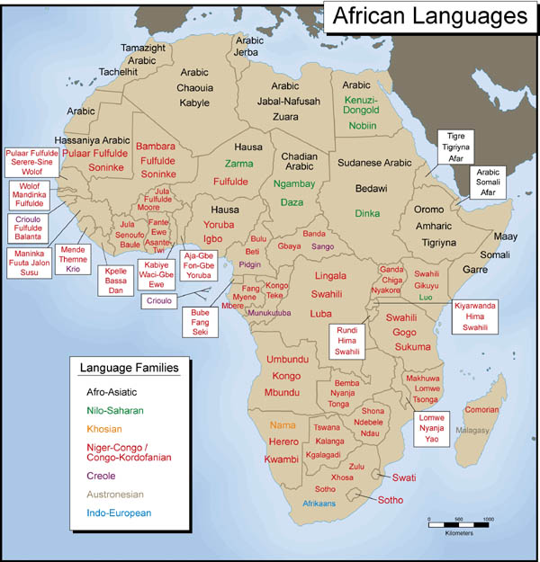 African Languages Translations