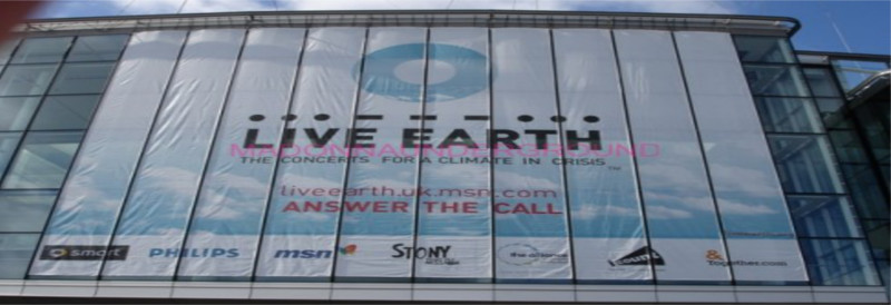 Live Earth website localization case study
