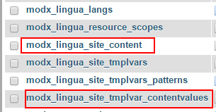 MODX Globalization Using Lingua - 4