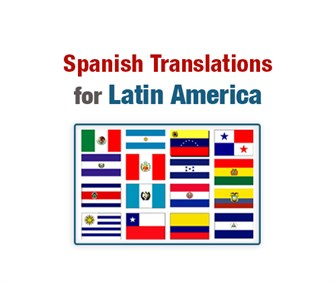 Spanish Translations for Latin America