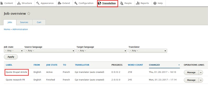 Translation Services Connector for Drupal_5