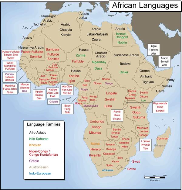 African Languages Translations