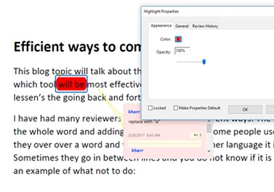Comment in PDFs - 3
