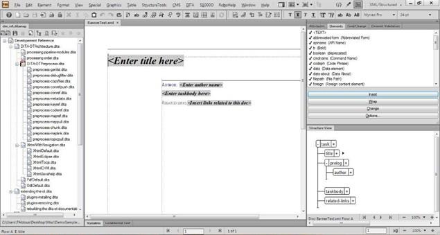 FrameMaker11-BannerText