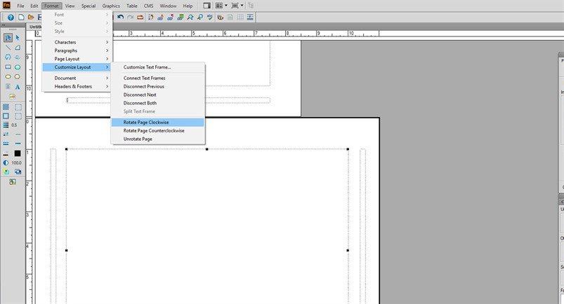 FrameMaker Master page - 3