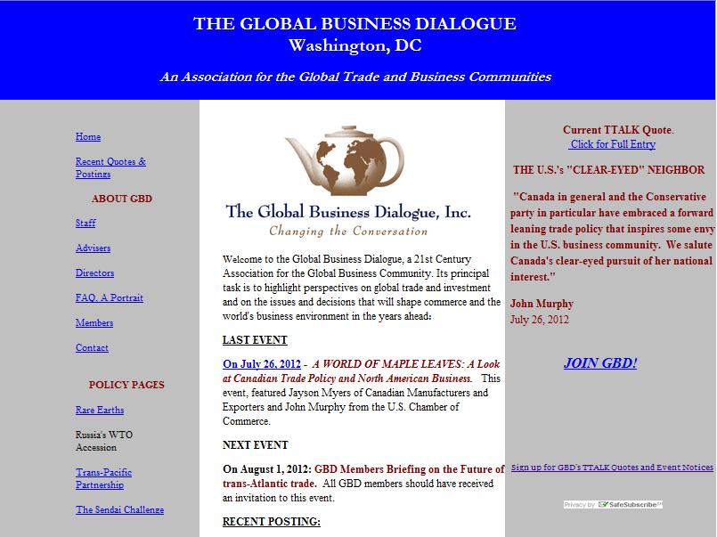 Global Business Dialogue