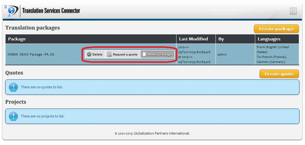 MODX and the GPI Translation Services Connector - 4