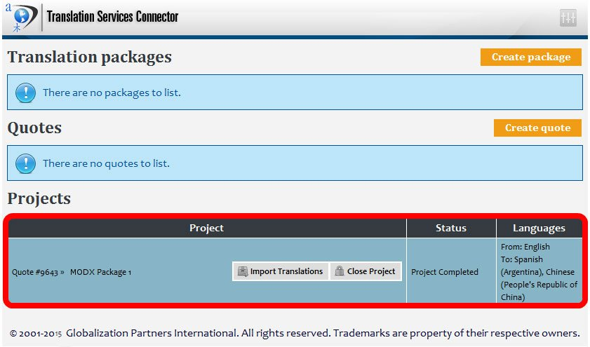 MODX and the GPI Translation Services Connector - 8