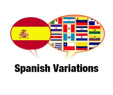 Spanish-Variations