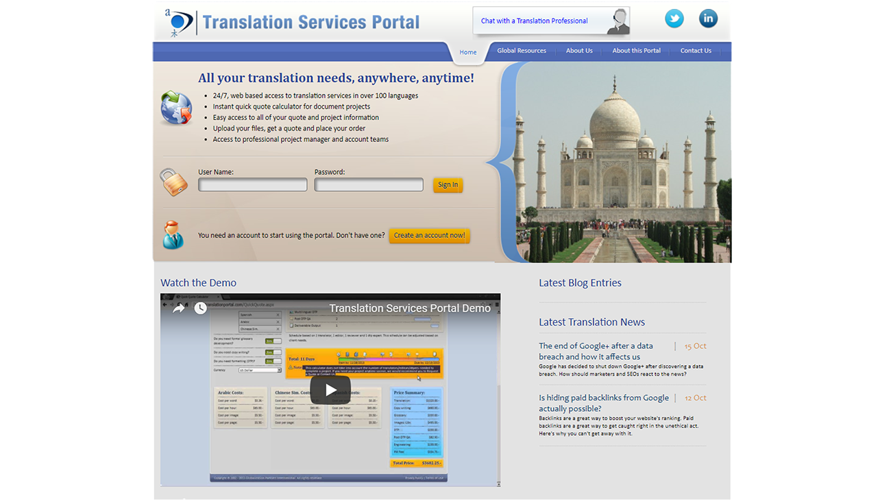 Translation Portals