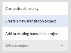 Adobe Experience Manager Translation