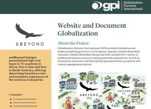 &Beyond - Globalization Partners International