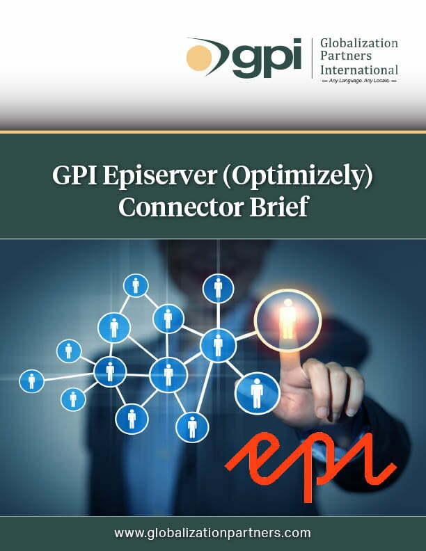 GPI Episerver (Optimizely) Connector Brief