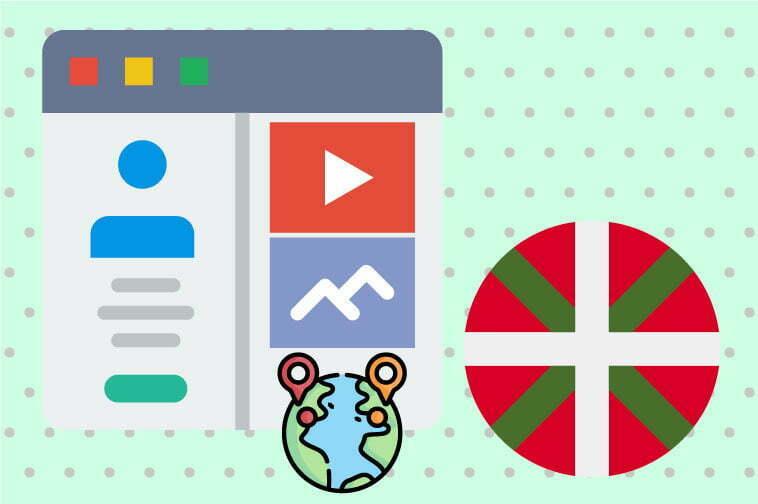 Basque Website Internationalization