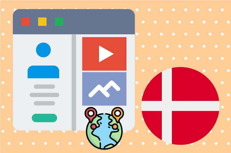 Danish Website Internationalization