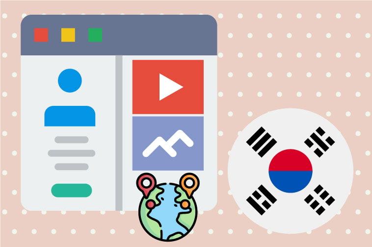 Korean Website Internationalization