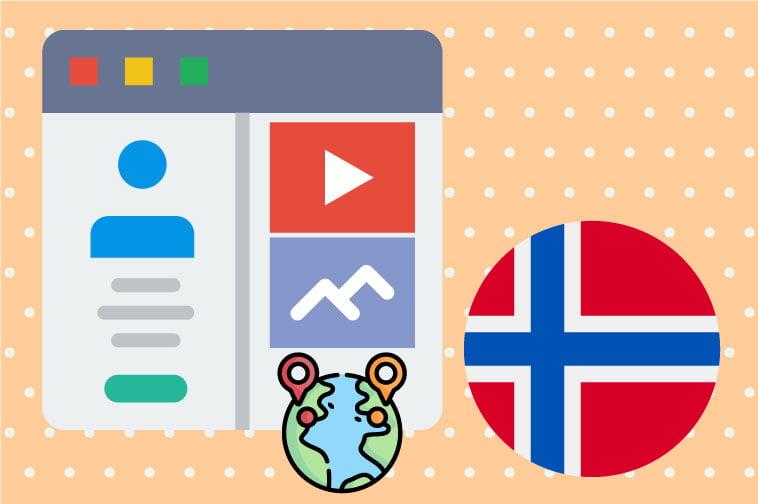 Norwegian Website Internationalization