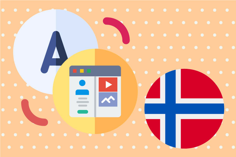 Norwegian Website Translation