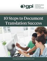 document translation success