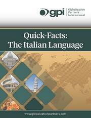 Italian Quick Facts ebook_small
