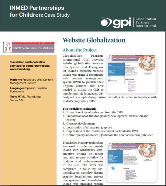 Inmed Partnership of Children case study_small