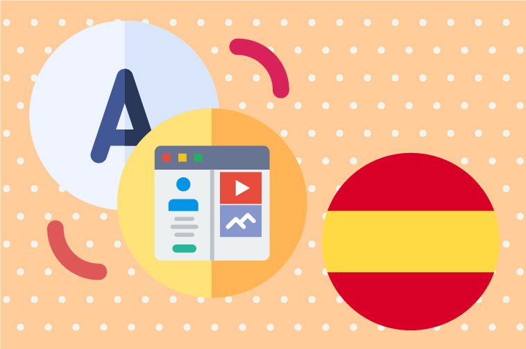 Spanish Website Translation