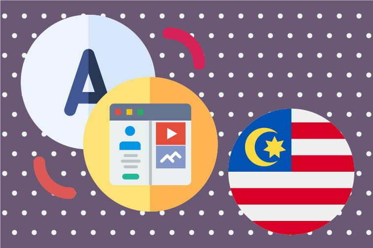 Malay Website Translation