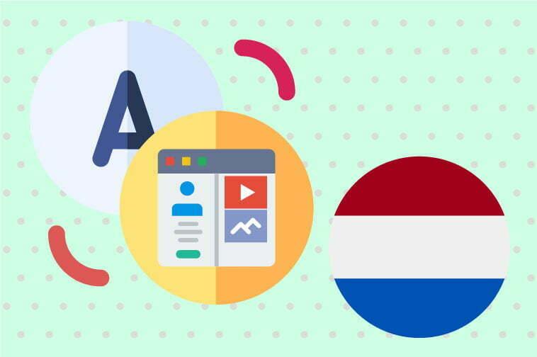 Dutch Website Translation
