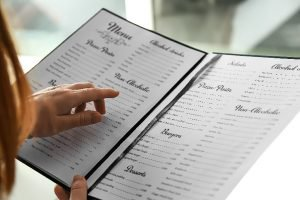 Arabic menu translation