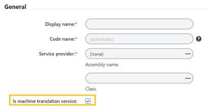 Machine Translation Service Xperience Localization