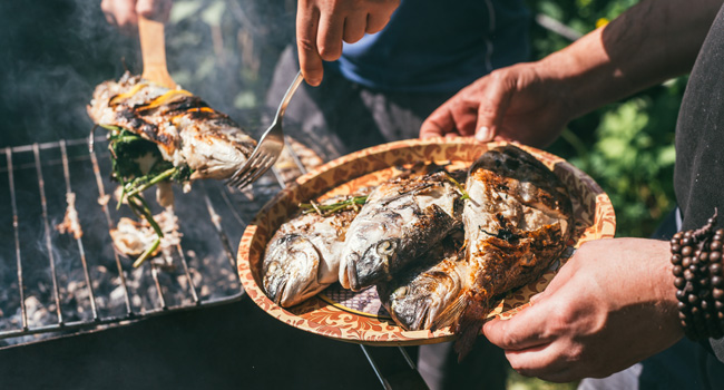 Grilled Fish COVID-19