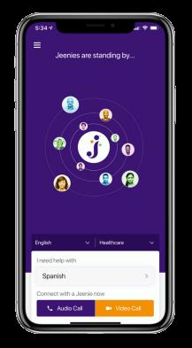 Jeenia Mobile Application Localization