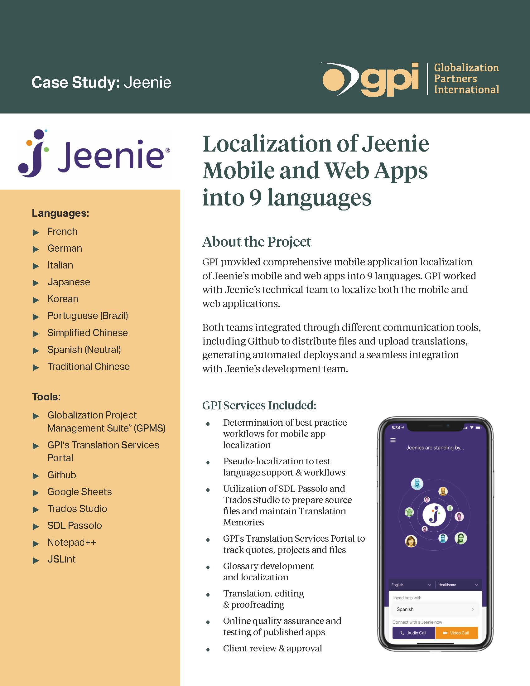 Jennie Case Study
