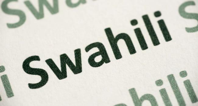 Swahili Language Translation