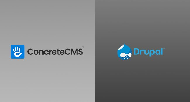 Compare Between Concrete CMS and Drupal