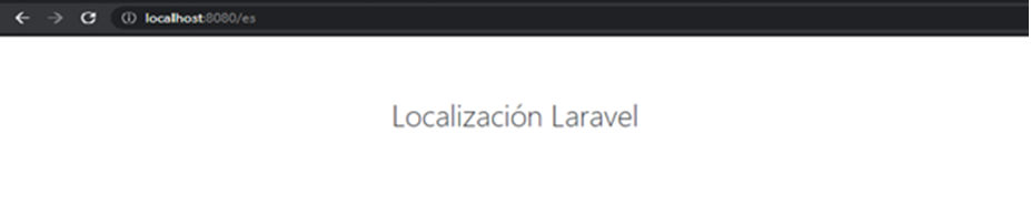 Laravel Website Localization